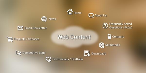 Website content photo