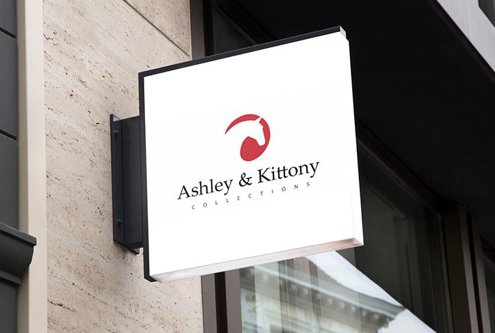 Ashley and Kittony Backlit Signage